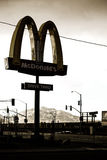 Fast Food Mojave City Royalty Free Stock Images