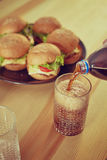 Fast food for party time Royalty Free Stock Photography