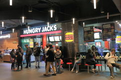 Fast food restaurant Australia royalty free stock photos