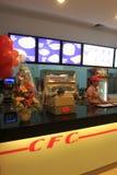 Fast food restaurant Royalty Free Stock Photos