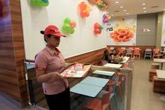 Fast food restaurant Royalty Free Stock Photo