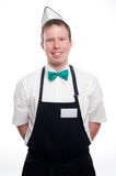 Fast Food / Sales Clerk Royalty Free Stock Photo