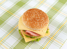 Fast food sandwich Stock Images