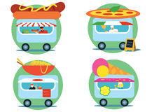 Fast food series Royalty Free Stock Images