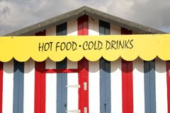 Fast food stand, Royalty Free Stock Photo