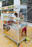 Fast food stand, Vietnam Royalty Free Stock Photo