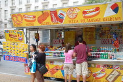 Fast Food Stand in Washington, DC Stock Photography