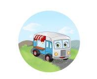 Fast food trailer Stock Photo