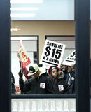 Fast Food Workers Stock Photos