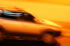 Fast and Furious. Fast and the Furious shoot in the night Stock Photo