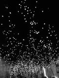 Fast Gleich-Sterne im Himmel Stockfoto