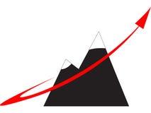 Fast growth company logo Royalty Free Stock Photography