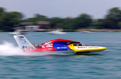 Fast Hydroplane Stock Photography