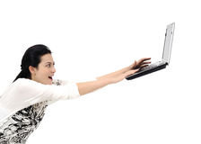 Fast internet! Stock Photography