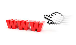 Fast internet concept Stock Images