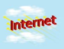 Fast Internet concept  Stock Photos