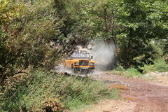 Fast Jeep - Off Road Royalty Free Stock Photography