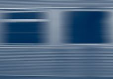 Fast life. Train window close-up, in motion Stock Image