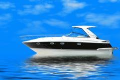 Fast luxury yacht Royalty Free Stock Photo