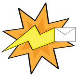 Fast mail Stock Images