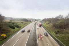 Fast Main Road Traffic Royalty Free Stock Image
