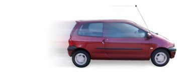 Fast Mini Car twingo. On white background Royalty Free Stock Photos