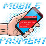 Fast Mobile Payment Stock Photos