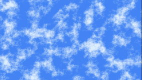 Fast motion of blue sky clouds backrounds stock footage