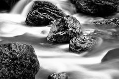 Fast mountain river Stock Photo