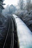Fast moving train Royalty Free Stock Photography