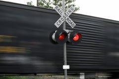 fast moving train Στοκ φωτογραφία με δικαίωμα ελεύθερης χρήσης
