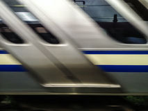 Free Fast Moving Train Royalty Free Stock Photography - 38170397