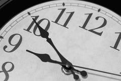 Fast neun O-` Uhr Lizenzfreies Stockfoto