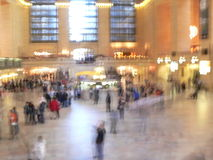 Fast paced Grand Central Terminal, New York City Royalty Free Stock Photos
