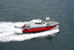 Fast pilot boat. In Salvador, Brazil Stock Images