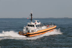 Fast pilot boat in action Royalty Free Stock Images