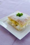 Fast pineapple dessert Royalty Free Stock Photos