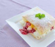 Fast pineapple dessert Stock Photography