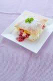 Fast pineapple dessert Stock Images