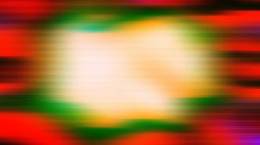 Fast power waves over red green background Stock Photo