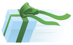 Fast Present Gift Concept Stock Photography