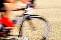 Fast racing bicycle Stock Photos