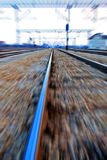 Fast railroad Stock Photography