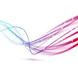 Fast rapid speed connection abstract lines royalty free illustration