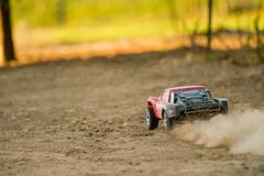 Fast rc car Stock Images