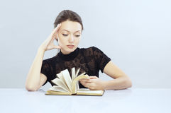 Fast reading Royalty Free Stock Photography