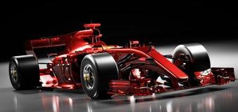 Free Fast Red F1 Car. Formula One Racing Sportscar Royalty Free Stock Photos - 206951678