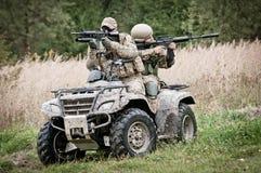 Fast response squad Stock Image