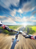 Fast ride concept Royalty Free Stock Photos