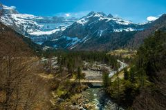Free Fast River In Valley, France Stock Photography - 37191512